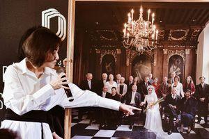 Thu Minh xúc động công bố ảnh cưới chụp tại Hà Lan