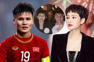 Thực hư thông tin Quang Hải hẹn hò ca sĩ Hiền Hồ
