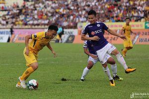 Sông Lam Nghệ An thất thủ trước CLB Hà Nội trên sân Vinh