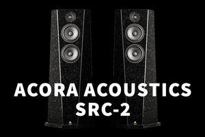 Acora SRC-2 – Loa cột bằng đá độc đáo, nặng hơn một tạ, tối ưu rung và nhiễu loạn âm thanh