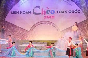 Sôi động liên hoan Chèo toàn quốc 2019 tại Bắc Giang