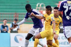 Hạ SLNA trên sân Vinh, Hà Nội vô địch trước 2 vòng đấu, bảo vệ thành công ngôi vương V.League