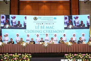 Bế mạc Hội nghị Tư lệnh Cảnh sát các nước Đông Nam Á