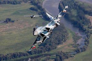 'Quái thú' Su-35S Nga chặn đứng tiêm kích F-35I Israel trên không phận Syria