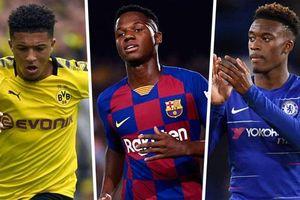 Top 10 'thần đồng' đáng xem nhất Champions League 2019-2020