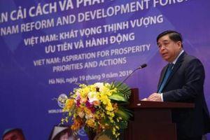 Khai mạc VRDF 2019: Việt Nam khát vọng thịnh vượng - ưu tiên và hành động