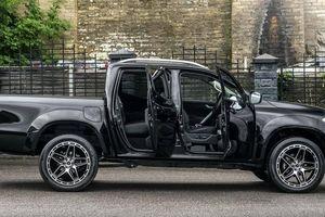 Khoản chi điên rồ để nâng cấp xe bán tải Mercedes-Benz X-Class