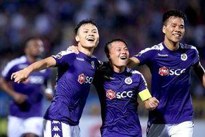 SLNA đá dưới sức, Hà Nội vô địch trước 2 vòng đấu