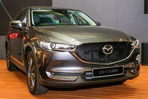 Mazda CX-5 lắp ráp tại Malaysia có bản động cơ tăng áp, giá 980 triệu đồng