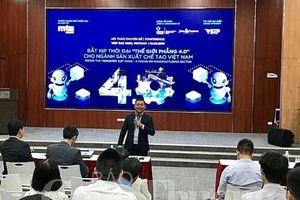 'Thế giới phẳng 4.0': Cơ hội đan xen cùng thách thức cho doanh nghiệp sản xuất chế tạo