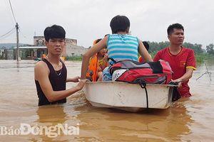 Hồ Trị An xả lũ, xã Bắc Sơn ngập nặng sau nhiều năm