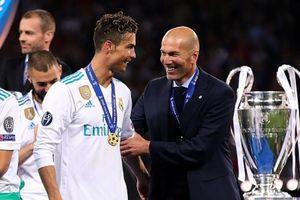 Dư âm PSG 3-0 Real Madrid: HLV Zidane và nỗi nhớ Ronaldo