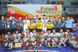 Thái Sơn Nam lần thứ 4 lên ngôi vô địch Futsal Quốc gia