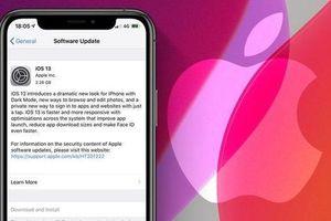 Apple chính thức phát hành iOS 13 cho iPhone