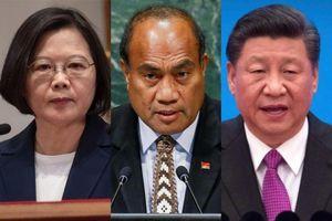 Đài Loan mất thêm đồng minh Kiribati về tay Trung Quốc
