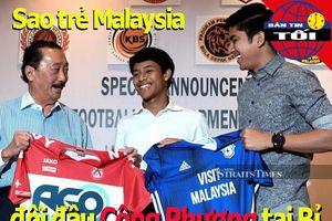 Sao trẻ Malaysia đối đầu Công Phượng tại giải VĐQG Bỉ