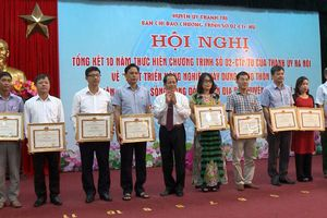 10 năm xây dựng nông thôn mới ở Thanh Trì: Thành quả từ sự đoàn kết