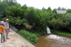 Người dân lại tố nhà máy cồn Đại Tân xả thải gây ô nhiễm