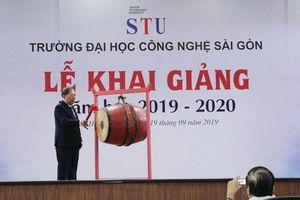 Trường ĐH Công Nghệ Sài Gòn khai giảng năm học mới