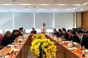 Chủ tịch Hội đồng Giáo sư nhà nước làm việc với Hội đồng Giáo sư ngành Y học