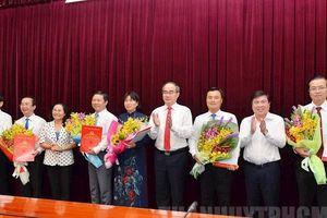 Ban Bí thư chỉ định nhân sự TP HCM, Đà Nẵng
