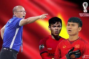 NÓNG: HLV Park gọi Nguyên Mạnh và Xuân Mạnh chuẩn bị cho trận gặp Malaysia