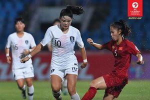 Việt Nam thua trận thứ 2 trên đất Thái Lan, đứng chót bảng B VCK U.16 nữ châu Á 2019