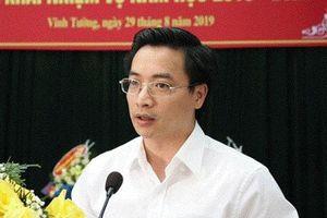 Báo cáo Ủy ban KTTƯ vụ bổ nhiệm quyền Giám đốc Sở GD&ĐT Vĩnh Phúc chưa 'kinh qua' ngành