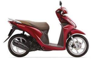 Honda ra mắt Vision phiên bản màu mới với giá bán không đổi