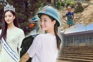 Lương Thùy Linh dốc sức sửa đường sạt lở Cao Bằng: Dự án nhân ái 'nặng ký' tại Miss World 2019?