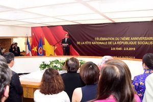 Bí thư Thành ủy Hà Nội thăm và làm việc tại Pháp