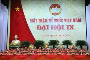Bế mạc Đại hội đại biểu toàn quốc MTTQ Việt Nam lần thứ IX