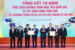 Thủ tướng Chính phủ: Hà Nội dẫn đầu, là hình mẫu của cả nước về xây dựng nông thôn mới
