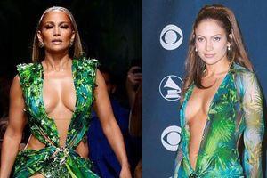 Jennifer Lopez mặc váy lấy cảm hứng từ thiết kế năm 2000