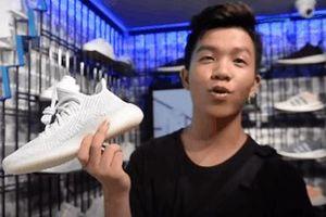 Những người đầu tiên đập hộp giày Yeezy mua tại Bitexco, Phố Huế