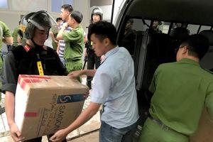 Cảnh sát thu 9 tỷ, 20 thỏi vàng khi khám xét Công ty Alibaba