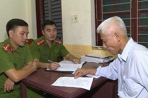 Bắt đối tượng cầm đầu vụ chống người thi hành công vụ ở Hải Tiến