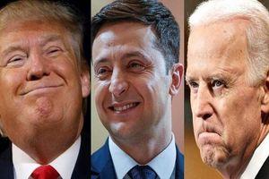 Tổng thống Mỹ hối thúc người đồng cấp Ukraine điều tra con trai của đối thủ Joe Biden