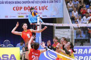 Bóng chuyền nữ Việt Nam thua trắng Thái Lan ở ASEAN Grand Prix