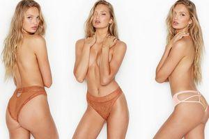 'Thiên thần Hà Lan' Romee Strijd bán nude với nội y, khoe body tuyệt mỹ