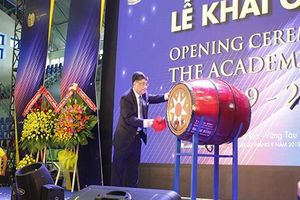 Gần 3.000 sinh viên Trường Đại học Bà Rịa – Vũng Tàu khai giảng năm học mới
