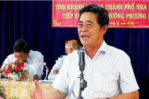 Thực hư thông tin Bí thư Tỉnh ủy Khánh Hòa xin nghỉ hưu trước tuổi trong khi đang bị xem xét kỷ luật