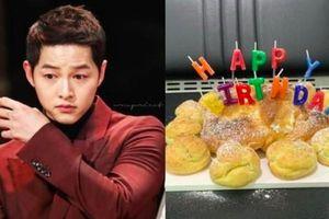 Song Joong rơi nước mắt trong ngày sinh nhật sau ly hôn Song Hye Kyo
