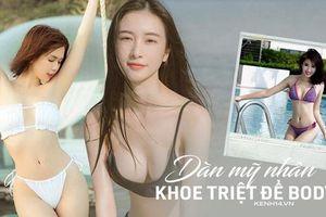 Du lịch với dàn mỹ nhân Việt là phải bikini khoe triệt để body 'mướt mắt': Ngọc Trinh gây sốc, Jun Vũ bất ngờ hơn!