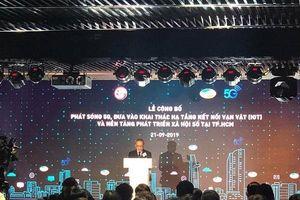 Viettel phát sóng 5G tại TP Hồ Chí Minh, khai thác nền tảng phát triển xã hội số