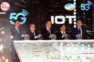 Viettel phát sóng 5G và đưa vào khai thác hạ tầng kết nối vạn vật (IoT) tại TP.Hồ Chí Minh