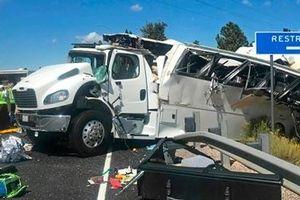 Xe buýt gặp nạn tại Mỹ, 30 du khách Trung Quốc thương vong