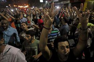 Ai Cập tăng cường an ninh, giải tán đám đông