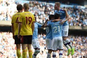 Toàn cảnh màn hủy diệt Watford 8 bàn không gỡ của Man City
