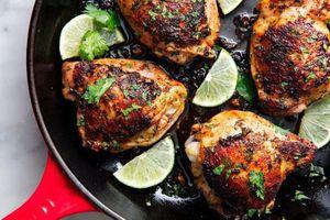 Cách làm gà nướng chanh chuẩn vị xứ sở kim chi